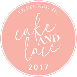 Featured on Cake and Lace 2017