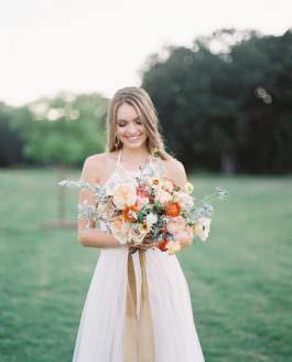 A Summer Sunset Inspiration | Texas Wedding