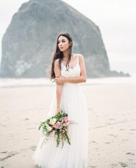 Bridal Inspiration Shoot | Cannon Beach, Oregon