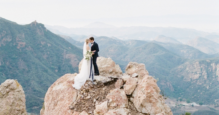 Malibu Rocky Oaks Wedding - Le Vie Photography - Fine Art Weddings