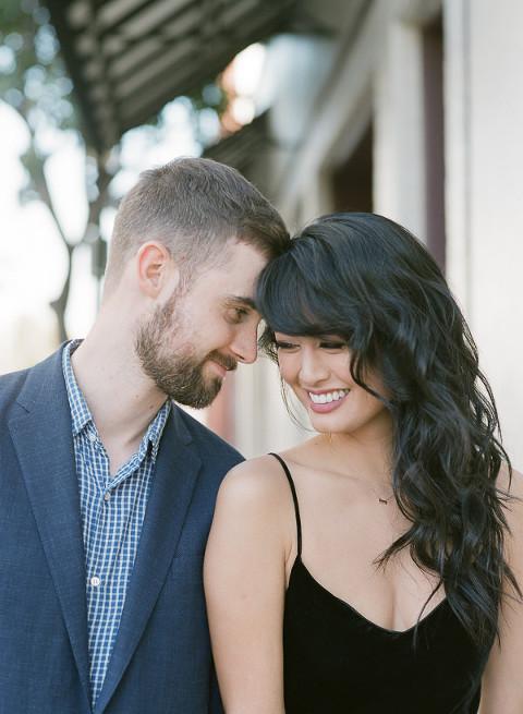 Dating en stressad man
